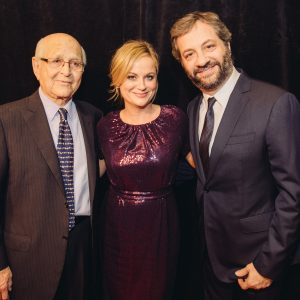Norman Lear, Amy Poehler and Judd Apatow