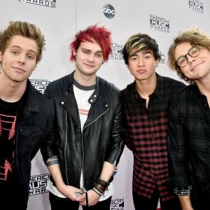 Luke Hemmings, Michael Clifford, Calum Hood and Ashton Irwin - 5 Seconds of Summer