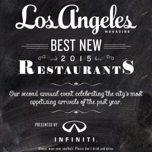 Best New Restaurants 2014
