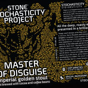 Stone's Master of Disguise Imperial Golden Stout