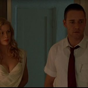 "Lynn and Bud in a scene of ""L.A. Confidential"""