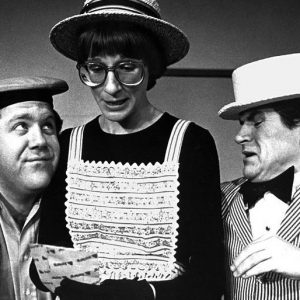 Tim Kazurinsky, George Wendt and Mary Gross perform with Second City in 1979. 18 June 2009, 09:35:07