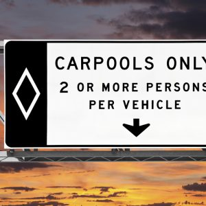 carpoollanesign
