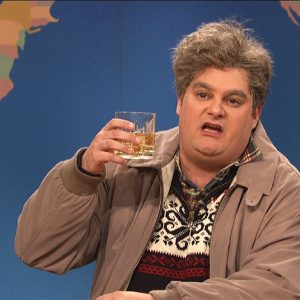 Saturday Night Live's Drunk Uncle. Nobody wants to be THAT guy.
