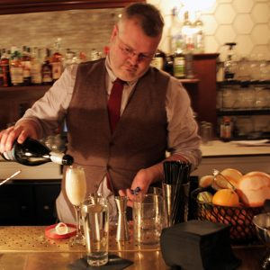 Bartender Damian Windsor is now behind the stick at the new and improved Power House.