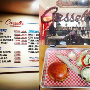Cassell's Hamburgers in Koreatown