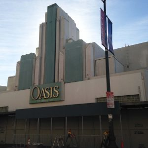 Oasis Theater on Wilshire Boulevard