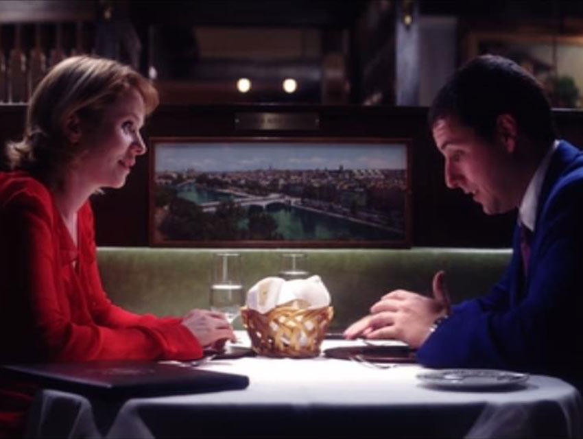 "A screen capture from ""Punch Drunk Love"""