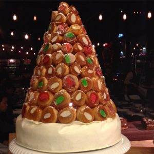 Church and State's Tony Esnault creates an annual croque-en-bouche.