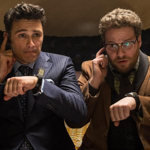 "James Franco and Seth Rogen star in ""The Interview"""