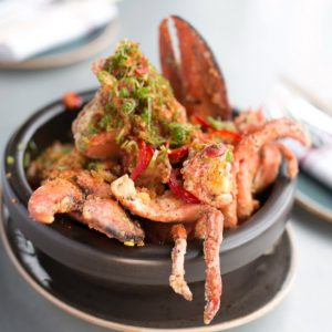 Dishes like salt-and-pepper lobster have made Little Sister a Manhattan Beach mainstay.