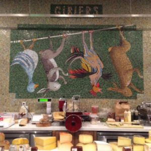 Wally's Vinoteca has an impressive cheese counter with an array of options to pair with your wine.