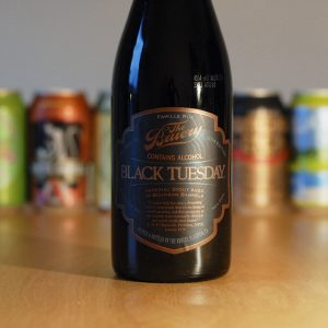 The Bruery's Black Tuesday has a 19.7 percent ABV.
