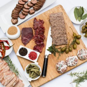 Learn how to make charcuterie at Café Pinot