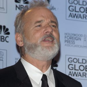 Bill Murray at The Golden Globes in 2004