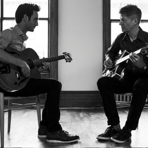 Nels Cline (right) and Julian Lage
