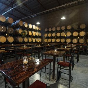 The taproom at Phantom Carriage