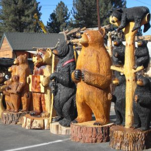 Embrace kitsch and bring an appetite when you visit Big Bear Lake.