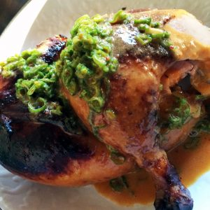 Huli Huli Chicken, on the menu at the new A-Frame