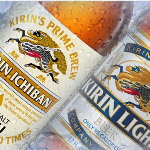 Kirin beer is brewed by Anheuser-Busch in the United States.
