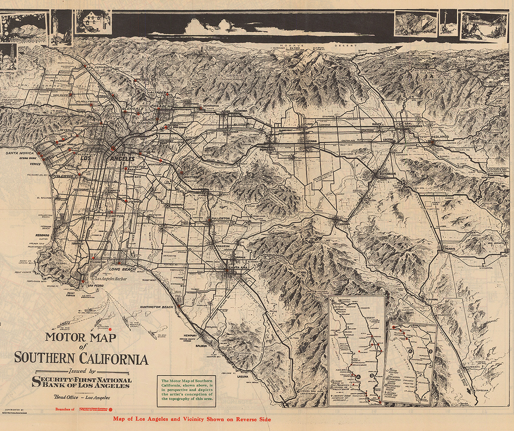 CityDig This Map Made LA Look Dreamy During The Depression - Los angeles k town map