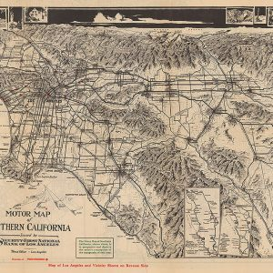 Motor Map of Southern California
