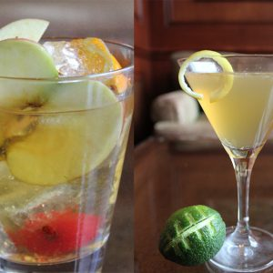 Four Seasons Hotel Westlake Village will be serving special East vs. West cocktails on game day:  a Boston Sidecar and a Washington Apple Old Fashioned.