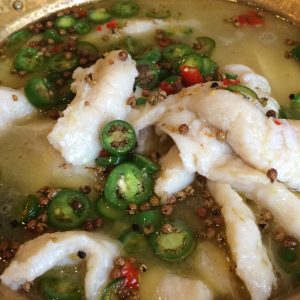 Szechuan Impression's Boiled Fish with Rattan Pepper can be delivered to your door.