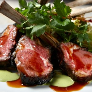 Eat grilled lamb chops for Chinese New Year at WP24 .