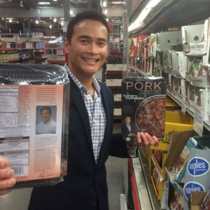 Mark Dacascos has launched his Culinary Champions line in L.A.-area Costcos.