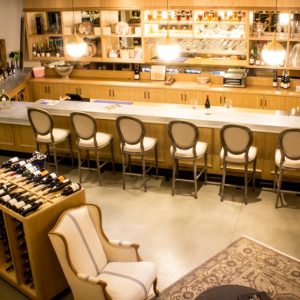 Grab a seat and get a style lesson at Heritage Fine Wines