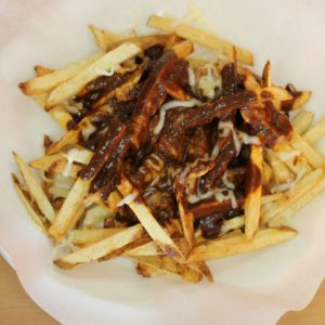 Mole cheese fries--something for the neighborhood