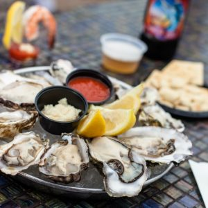 Hermosa Beach Fish Shop serves fresh seafood and local beers.