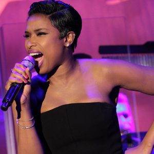 Jennifer Hudson performs at the Carousel of Hope in 2014