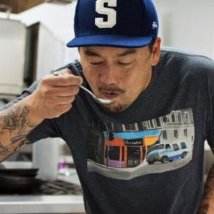 Roy Choi never stops looking for the perfect bite.