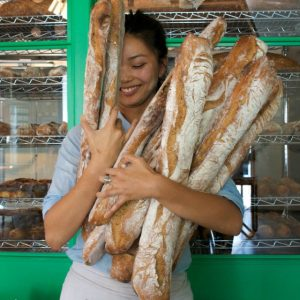 Superba Food + Bread's levain makes people smile.