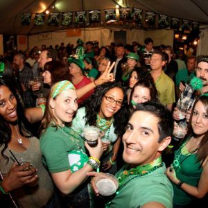 What St. Patrick's Day at Tam O'Shanter looks like