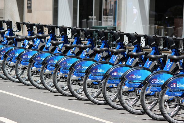 Bike-sharing has proven to be successful in cities worldwide, including New York's Citi Bike system, and a project to bring a similar program to L.A. is underway.
