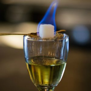 Get an ounce of absinthe for a nickel at The Horn on Thursday.