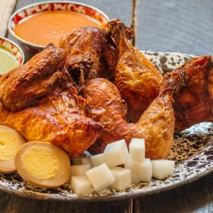 A-Frame's Cracklin Beer Chicken is back by popular demand.