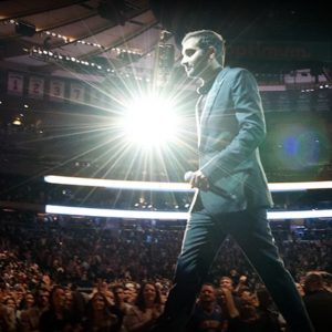 Aziz Ansari sold out Madison Square Garden for his Netflix special.