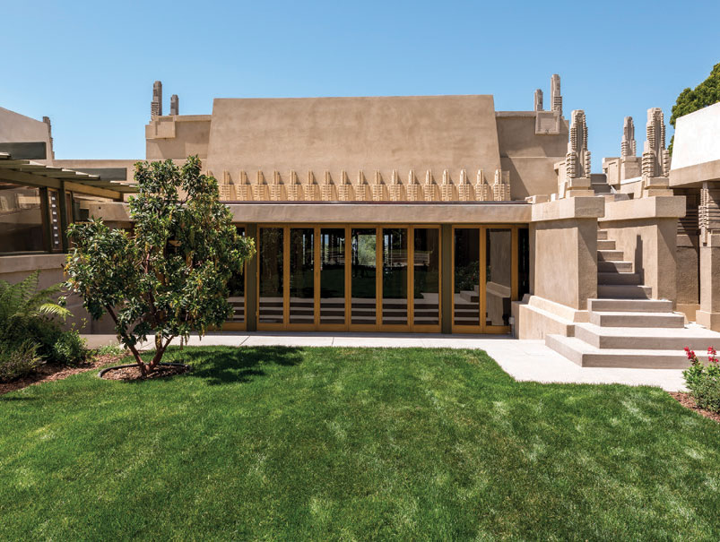Hollyhock House Tours Los Angeles