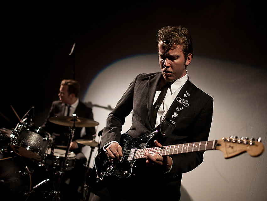 Brothers Jared and Jonathan Mattson (who perform as Mattson 2) founded Jazzilla last fall