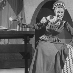 "Patricia Morison in Cole Porter's ""Kiss Me, Kate"""