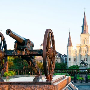 The St. Louis Cathedral.