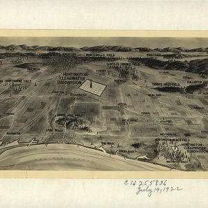 Views of oil fields around Los Angeles, 1922, C.S. & E.M. Forncrook