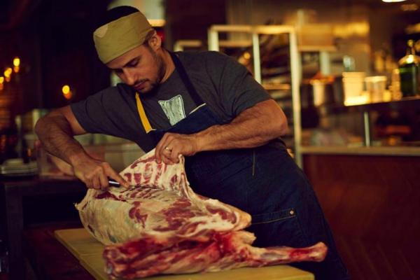 "Food & Wine calls Ori Menashe a ""meat virtuoso."""