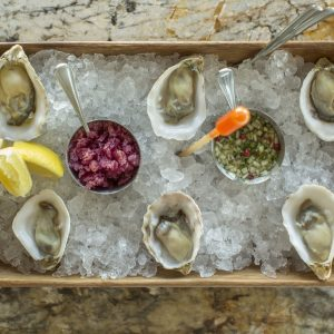 Oysters at Ox & Son