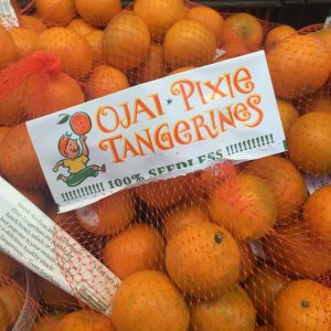 Pixie tangerines are seedless delights.