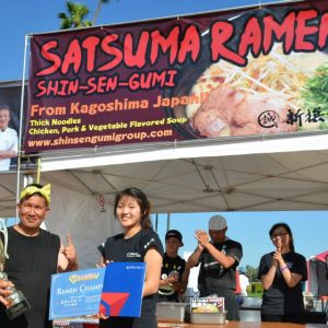 Shin-Sen-Gumi grabs first prize at Ramen Championship.